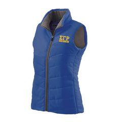 Sigma Gamma Rho Admire Vest from GreekGear.com