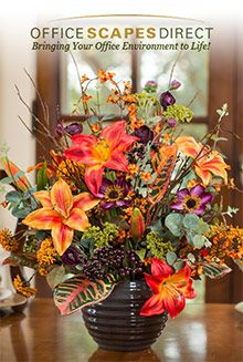 Tropical Orchids Ginger Br Silk Flower Arrangement Holiday Ping Ideas Pinterest Flowers Arrangements And Orchid