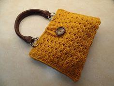 CROCHET How To #Crochet Cross Cable Handbag Purse TUTORIAL #351 - YouTube