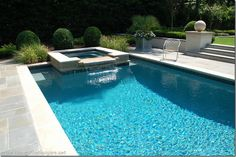 """pool color is """"French Gray Pepple sheen"""". smoother than pebble tech"""