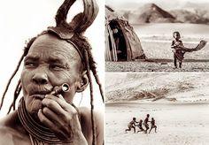 A fotógrafa Susan Portnoy passou alguns dias no deserto de Kunene, região remota entre a fronteira da Namíbia com Angola, registrando o cotidiano e os costumes do fascinante povo semi-nômade Himba. Em algumas fotografias impactantes, ela documenta a experiência de estar tão longe de tudo e de todos. Vivendo em cabanas feitas de esterco, areia e madeira, a tribo produz de tudo um pouco para poder sobreviver. As mulheres se dedicam a fazer acessórios, como colares com fios de couro, conchas e…