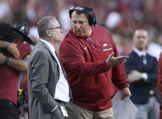 Arkansas professor arrested after screaming at Bielema #Sport #iNewsPhoto