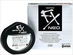 Sante FX Neo Cooling Eye Drops Japanese Eyedrops 12ml F/S Free Shipping #SANTE