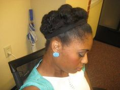 50 Luxury Protective Hairstyles for Short Relaxed Hair Check more at shorthairs Be Natural, Natural Hair Tips, Natural Hair Styles, Natural Updo, Going Natural, Natural Girls, Relaxed Hair, Protective Hairstyles For Natural Hair, Black Hair Care