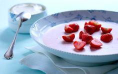 Jordbærfromage