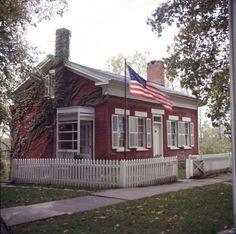 Inventor Thomas Alva Edison (1847-1931) was born in this brick house in Milan, Ohio on February 11, 1847.