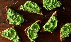 RECIPE: Pea, Mint & Feta Toasts (V)