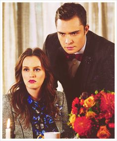 Mean mugging Chuck and Blair style