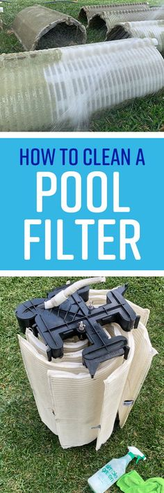 The filter in your swimming pool captures and removes dirt and debris, hair, dead bugs. It even skims out finer particles like bacteria, sunscreen, and body oi Bbq Grill Cleaner, Trisodium Phosphate, Body Oils, Clean Grill, Pool Chemicals, Relief Valve, Pool Filters, Rubber Gloves, All Purpose Cleaners