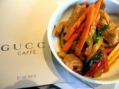 Crista Calabra: Gucci Caffè @ The Mall - Dura vita di una blogger