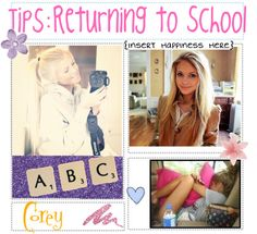 """""""Returning to School! (:"""" by totally-tipsy-girls ❤ liked on Polyvore"""