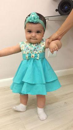 Baby Girl Dress Patterns, Baby Dress Design, Skirt Patterns, Coat Patterns, Blouse Patterns, Sewing Patterns, Kids Dress Wear, Kids Gown, Baby Girl Frocks