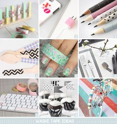 DIY // washi tape ideas #2 » PS by Dila | PS by Dila - Your daily inspiration