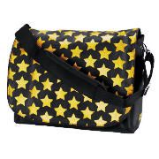 Celly 15.4 Gold Stars Laptop Bag This Celly laptop bag comes in a black/gold design made from nylon. This backpack carries laptops of up to 15 and features an internal pocket for MP3 players and padded dividers. Includes shoulder str http://www.comparestoreprices.co.uk/laptop-cases/celly-15-4-gold-stars-laptop-bag.asp