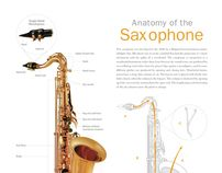 """Check out this @Behance project: """"Anatomy of the Saxophone"""" https://www.behance.net/gallery/1210525/Anatomy-of-the-Saxophone"""