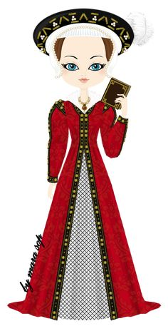Katherine Parr by marasop on deviantART, sixth wife of Henry VIII