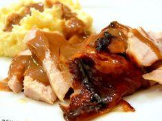 Roasted Maple Glazed Turkey Breast