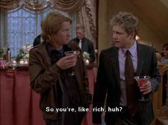 And let's be honest, he's rich which is kind of awesome. | 22 Reasons Rory Should Have Stuck With Logan