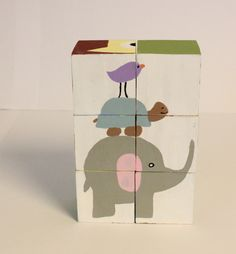 wood puzzle, wooden block puzzle, toddler wood puzzle,