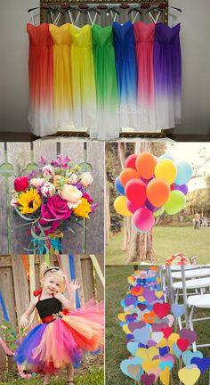 85 Charming And Amazing Rainbow Bridesmaid Dresses Lozf15045 Wedding Bridesmaiddresses Cocomelody