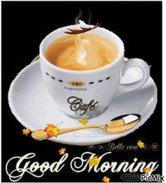 Good Morning Kiss Images, Good Morning Gift, Morning Coffee Images, Good Morning Coffee Gif, Good Morning Images Flowers, Morning Kisses, Morning Morning, Good Morning Texts, Good Morning Picture