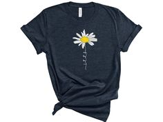 This cute-tee shirt is super soft and lightweight, with just the right amount of stretch. It's a comfortable and flattering Unisex fit that's perfect for wearing with jeans or leggings. Hippie T Shirts, Flower Shirt, Cute Outfits, Trendy Outfits, Beautiful Outfits, Girly Outfits, Swag Outfits, Grunge Outfits, Shirt Designs