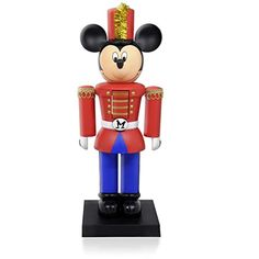 Disney Mickey Mouse Nutcracker Tabletop Decoration 2015 Hallmark -- Read more reviews of the product by visiting the link on the image.