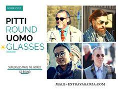 Round SunGlasses Trend at Pitti Uomo 87 2015 #pittiuomo87 #pittiuomo #pitti #pitti87 #pittiuomo2015 #fashion #trends #menswear #style #nickwooster #sunglasses #glasses #roundsunglasses