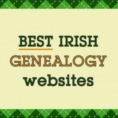 Irish Genealogy Websites via paid webinar--I'm considering it Free Genealogy Sites, Genealogy Search, Family Genealogy, Genealogy Forms, Ancestry Websites, Family Tree Research, Emotion, Site Internet, Before Us