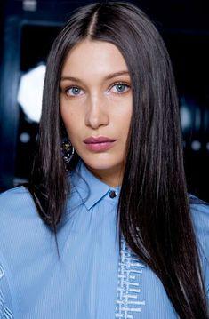 Bella Hadid 8 truques para deixar o cabelo liso