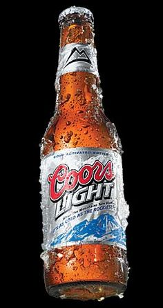 Coors Light - Cold as the Rockies Fun Cocktails, Fun Drinks, Yummy Drinks, Alcoholic Drinks, Beverages, American Beer, 16th Birthday Gifts, Beer Tasting, Frozen Drinks