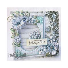 Flower Stamen, Heartfelt Creations Cards, Folded Cards, Flower Making, Homemade Cards, Making Ideas, Paper Flowers, Wedding Cards, Cardmaking