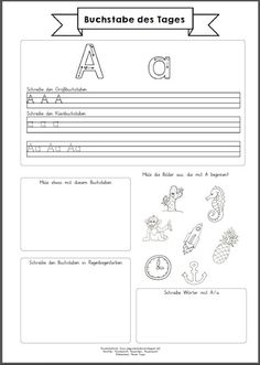 930 best schule images on Pinterest | Learning letters, German ...