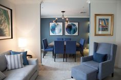 Living and Dining Room Design by Jodie Carter Design