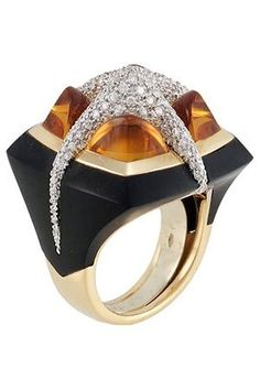 Valente grid ring | Ooooh, shiny! | Pinterest | Rings, Jewelry and Jewellery