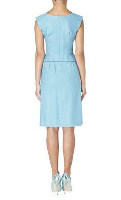 Blue top & skirt, circa 1965 - William Vintage