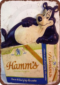 Hamm/'s Beer Bear Vintage Deck Of Playing Cards St Paul Minnesota Brewery USA