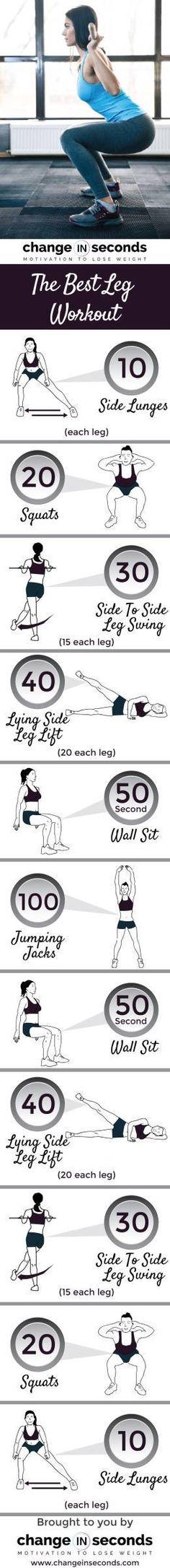 The Best Leg Workout