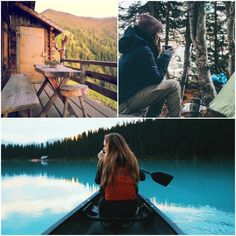 Plan a unique bachelorette party!  Try a girls weekend camping or glamping as we'd like to do. Rent a luxury cabin, hike, canoe, take in nature, drink wine out of your coffee cup ;) Travel Picture, Ski Weekends, Bridesmaid Tips, Sup Yoga, Bachelorette Weekend, Bachelorette Ideas, Getaway Cabins, Girls Getaway, Canoe Trip