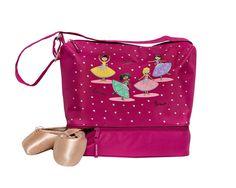 Horizon Dance Bravo Pink Dance Bag for Girls (Tote with Shoe Compartment) Toddler Dancewear, Kids Dance Wear, Pretty Ballerinas, Small Tote Bags, Girl Dancing, Drawstring Backpack, Diaper Bag, Pink, Stuff To Buy