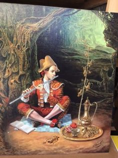 Michael-Cheval-Magic-Flute-S-N-w-COA-GICLEE-CANVAS-3050SRP