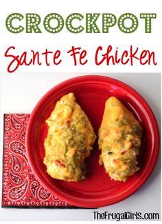 Crockpot Sante Fe Chicken in Crockpot Recipe, Main Courses Sides, Recipes