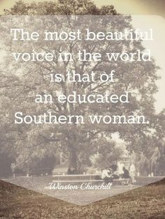 The longer I live in Texas the more I love the South. It's for that southern charm.