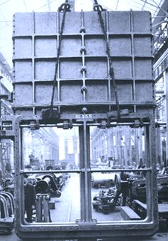 One of the Titanic's watertight compartment doors.