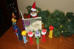 My nanny family has a cute Christmas tradition...Elf on a Shelf.   I like to find new ideas for the elf to do each night! These are somefu...