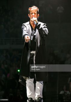 Joey McIntyre of New Kids on the Block performs during 'The Main Event' concert at The Palace of Auburn Hills on May 29, 2015 in Auburn Hills, Michigan.