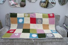 Dottie Angel Inspired Crochet Blanket by Cosmos and Cotton