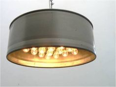 pendant metal drum
