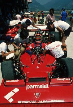 """Andreas Nikolaus """"Niki"""" Lauda (AUT) (Parmalat Racing Team), Brabham BT46 - Alfa Romeo flat-121978"""