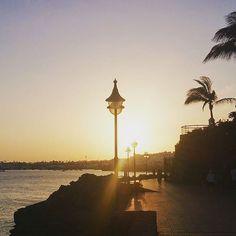 Atardecer en Playa Blanca - #playablanca - #yaiza - #lanzarote